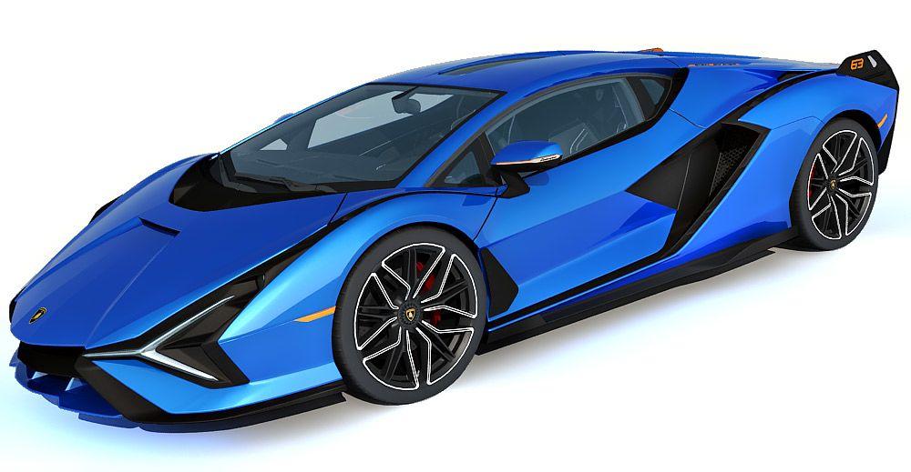 Lamborghini Sian 3d model