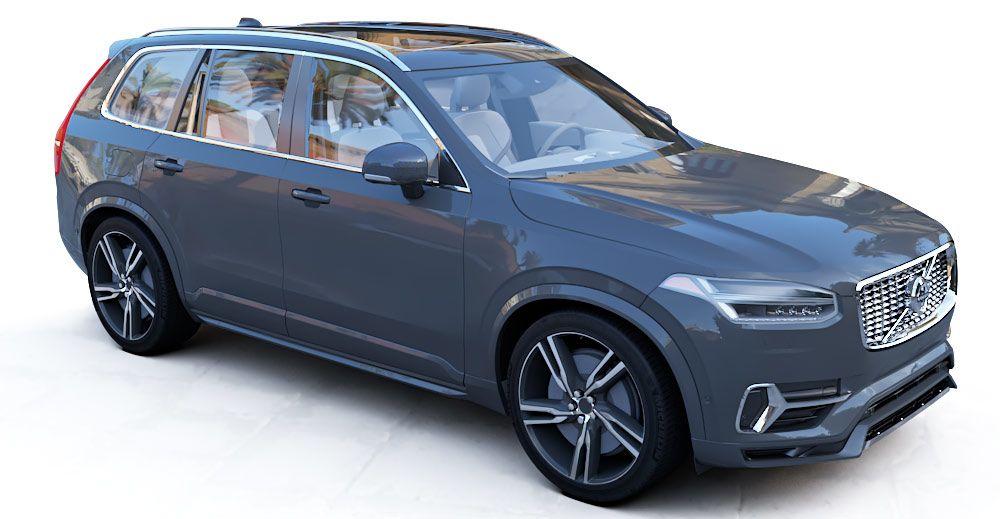 Volvo XC90 3d model