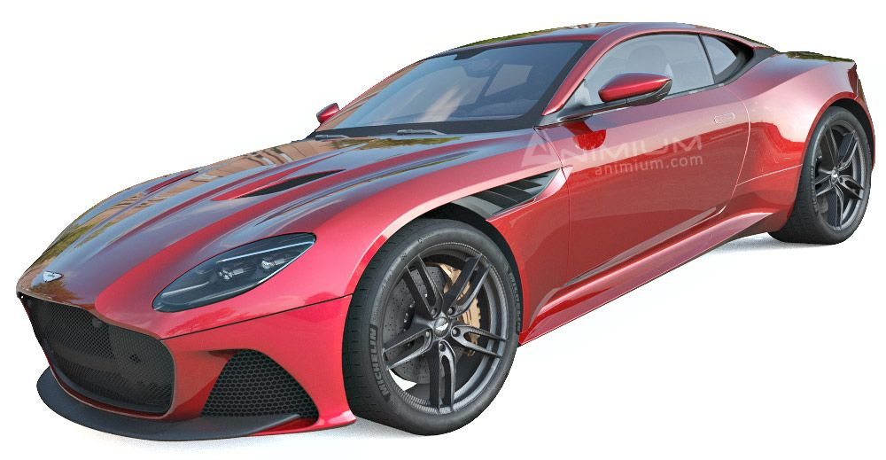 Aston Martin DBS Superleggera 3d model