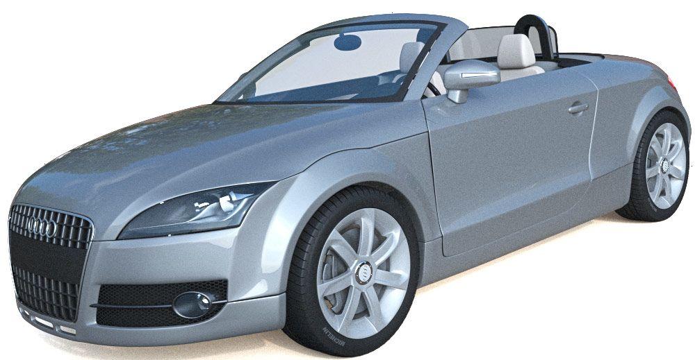 Audi TT Roadster 3d model