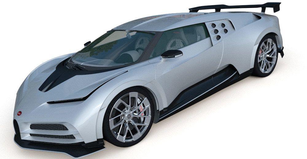 Bugatti Centodieci 2020 3D model