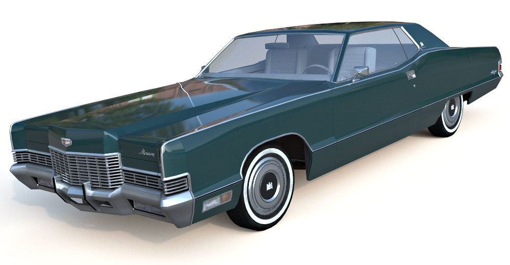 Mercury Marquis 3d model