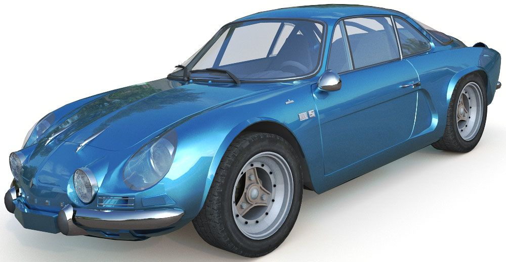 Renault Alpine A110 3d model