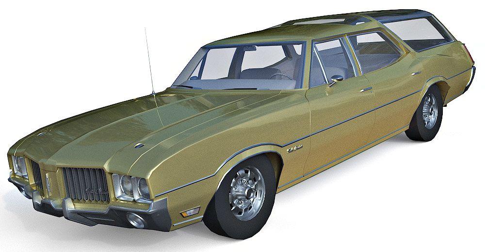 Oldsmobile Vista Cruiser 3d model
