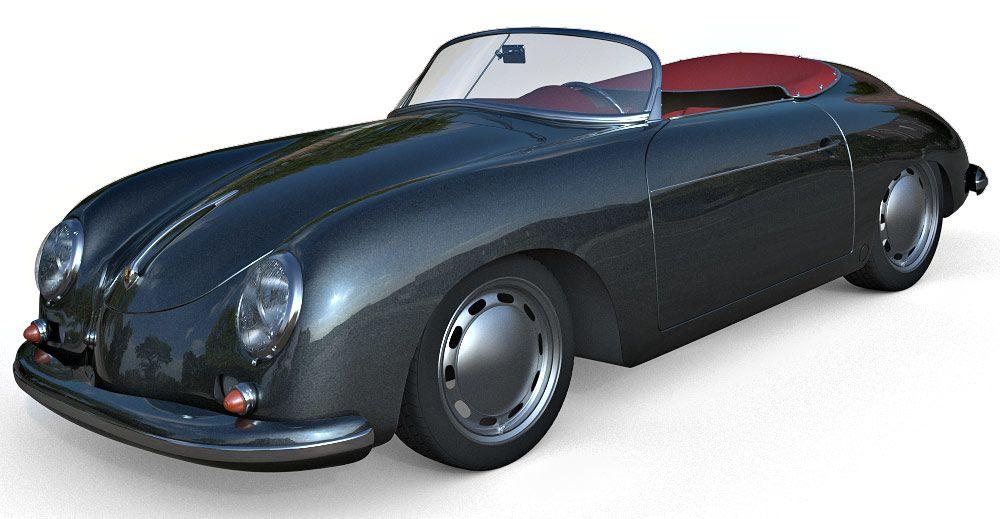 Porsche 356 3d model