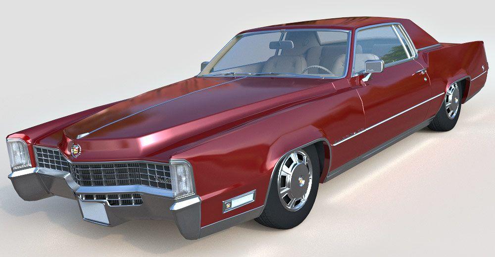 Cadillac Fleetwood Eldorado 3d model