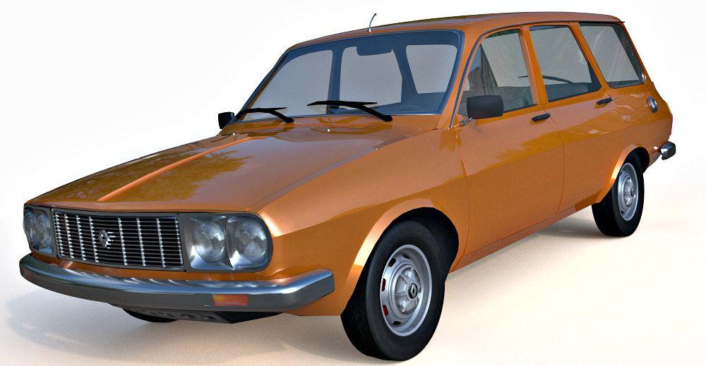Renault 12 3d model