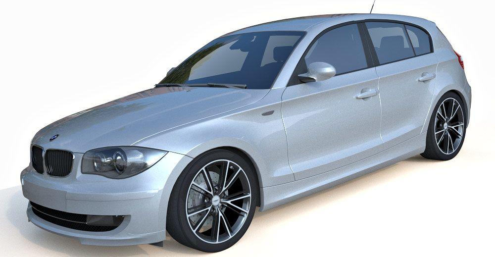 BMW 1 3d model