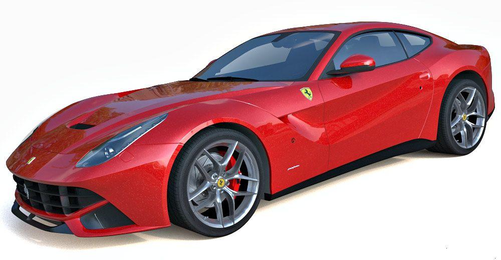 Ferrari F12 Berlinetta 2013 3d model