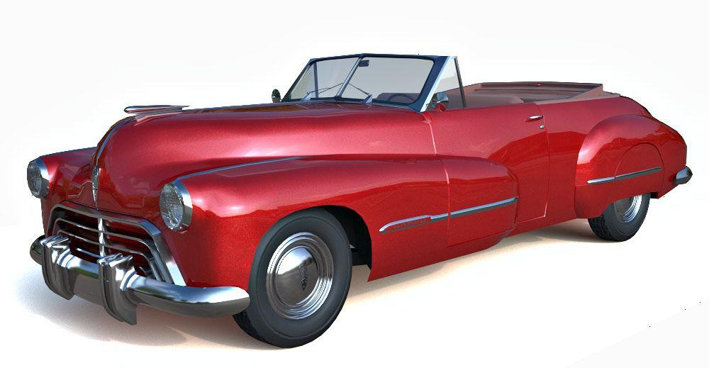 1947 Oldsmobile 98 3d model