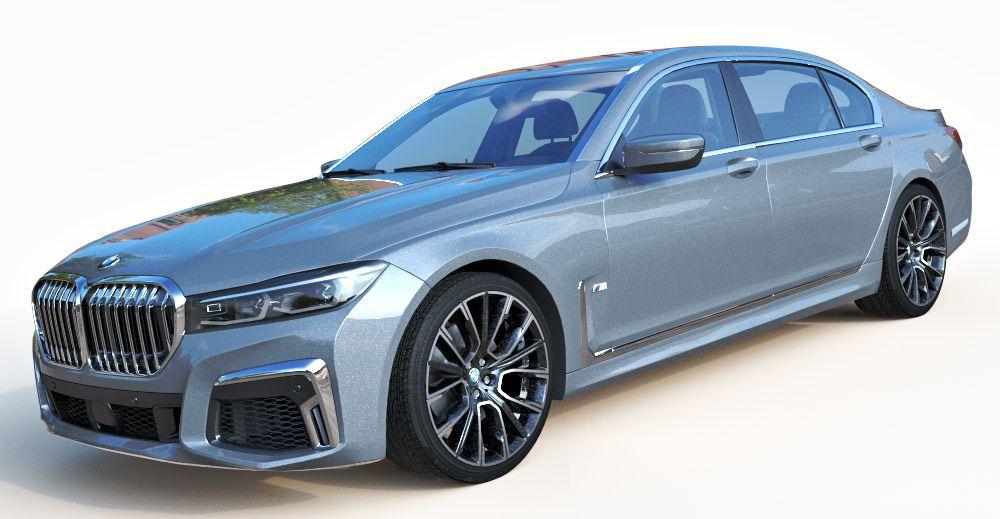 BMW 750Li 3d model