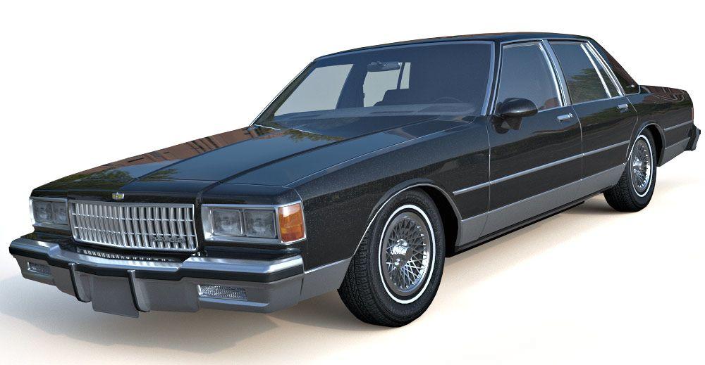 Chevrolet Caprice Brougham 3d model