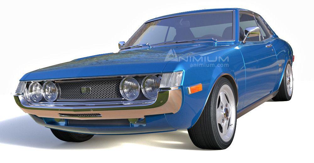 1976 Toyota Celica GT 3d model