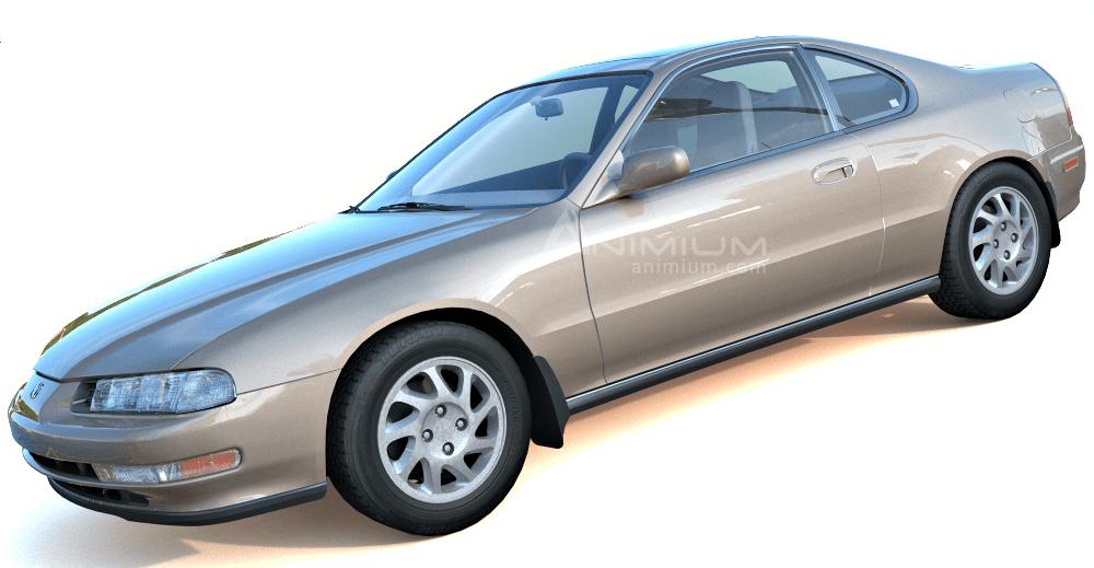 1994 Honda Prelude 3d model