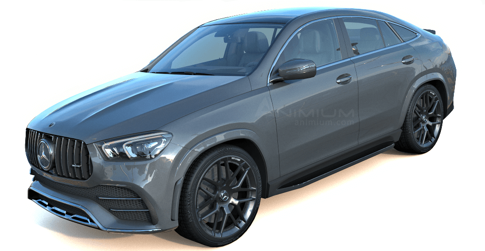Mercedes Benz AMG GLE 53 3d model