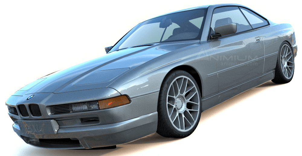1996 BMW 850CSi 3d model
