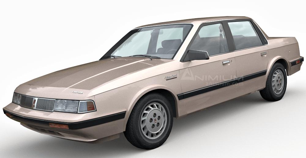 Oldsmobile Cutlass Ciera 3d model