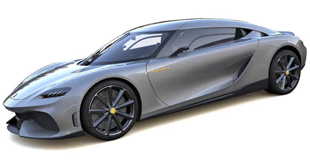 Koenigsegg Gemera 3d model