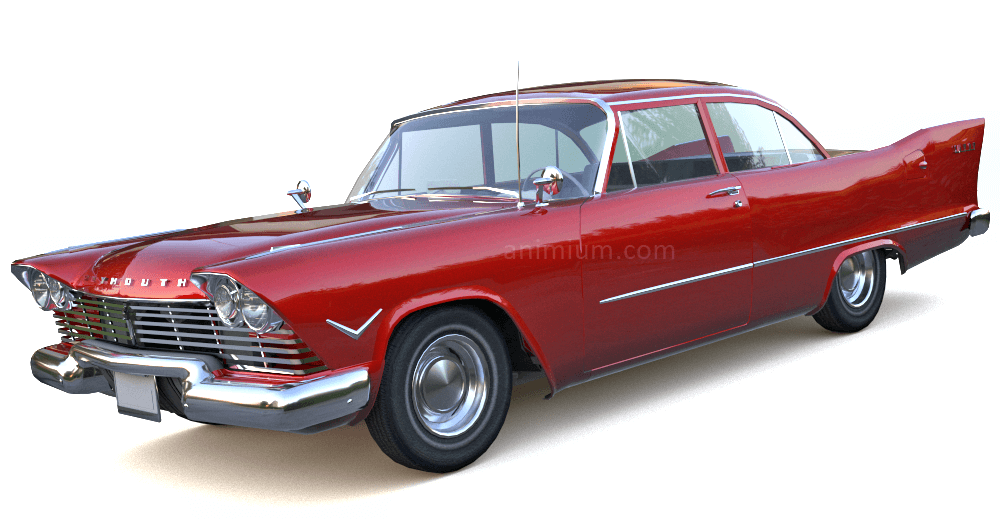 Plymouth Savoy 3d model
