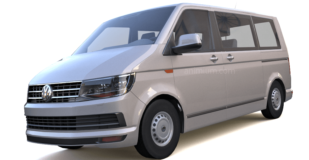 Volkswagen Transporter T6 3d model
