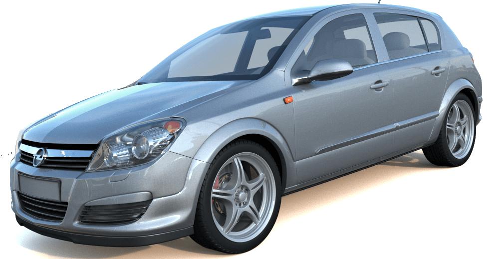 Opel Astra 3d model