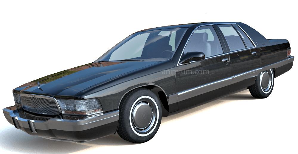 Buick Roadmaster 3d model