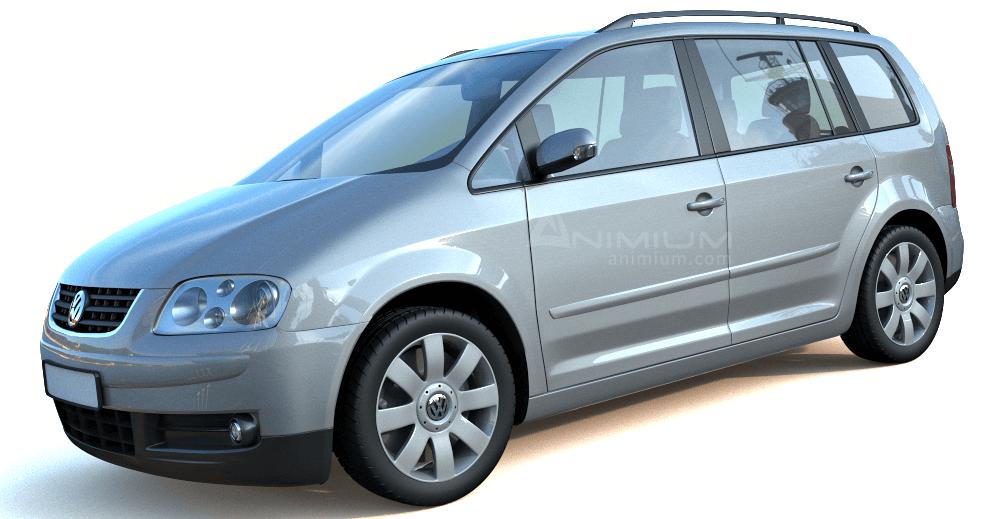 Volkswagen Touran 3d model