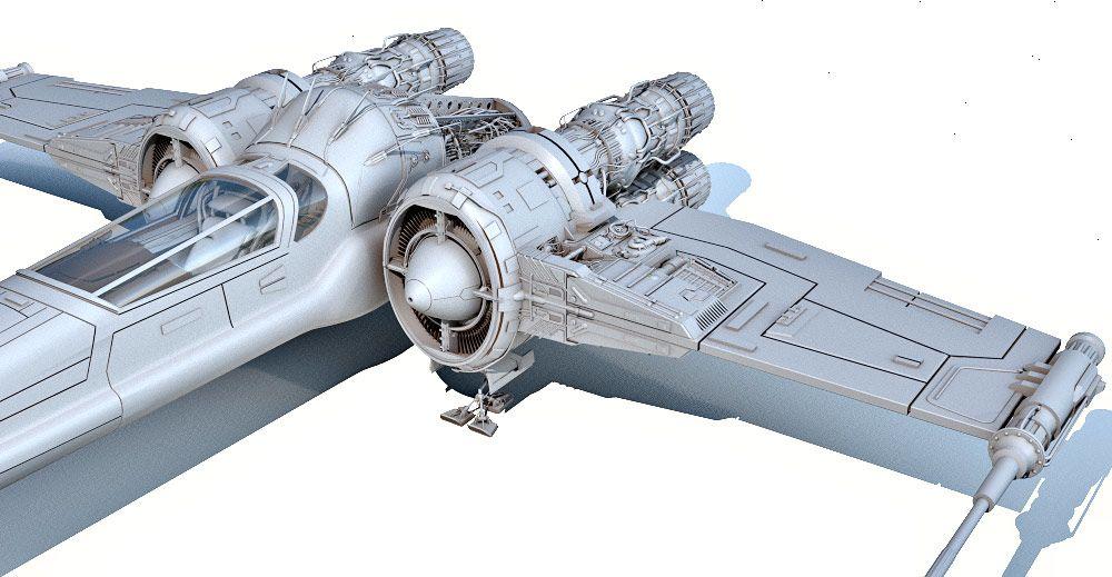 Headhunter Ship 3d model