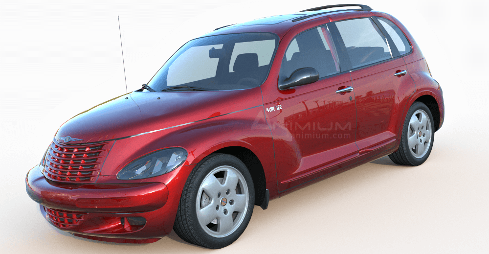 Chrysler PT Cruiser 3d model