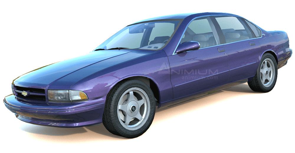 1995 Chevrolet Impala 3d model