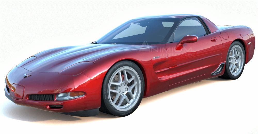 Chevrolet Corvette Z06 3d model