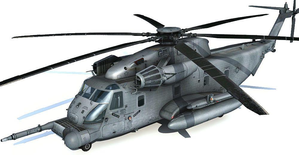 Sikorsky MH-53 Pave Low 3d model