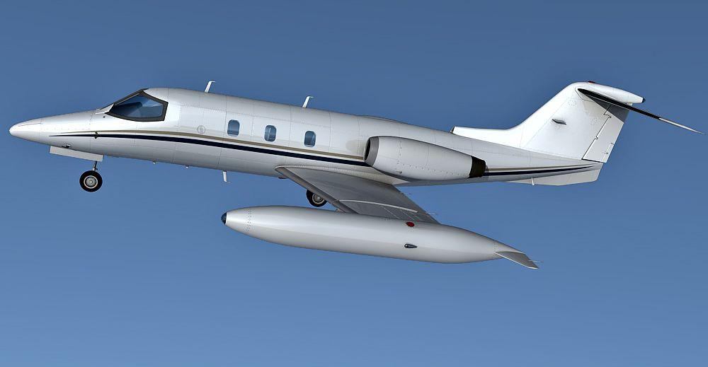 Learjet 24 3d model