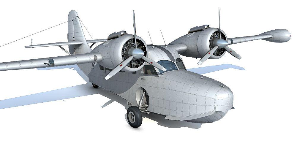 Grumman goose 3d model