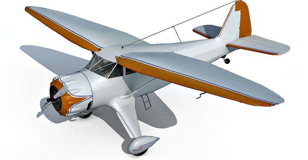 Stinson Gullwing 3d model
