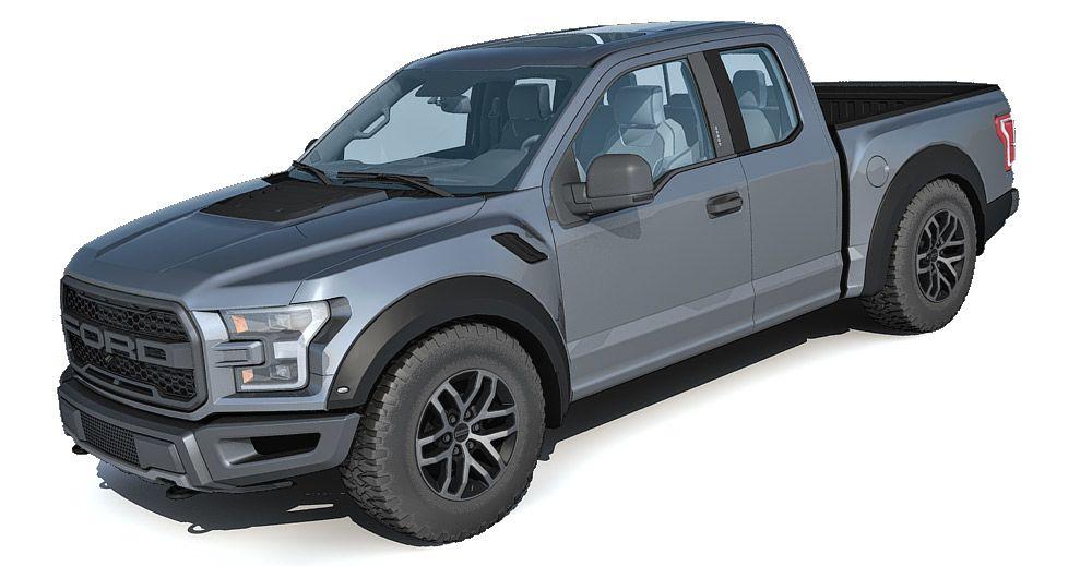 Ford Raptor 3d model
