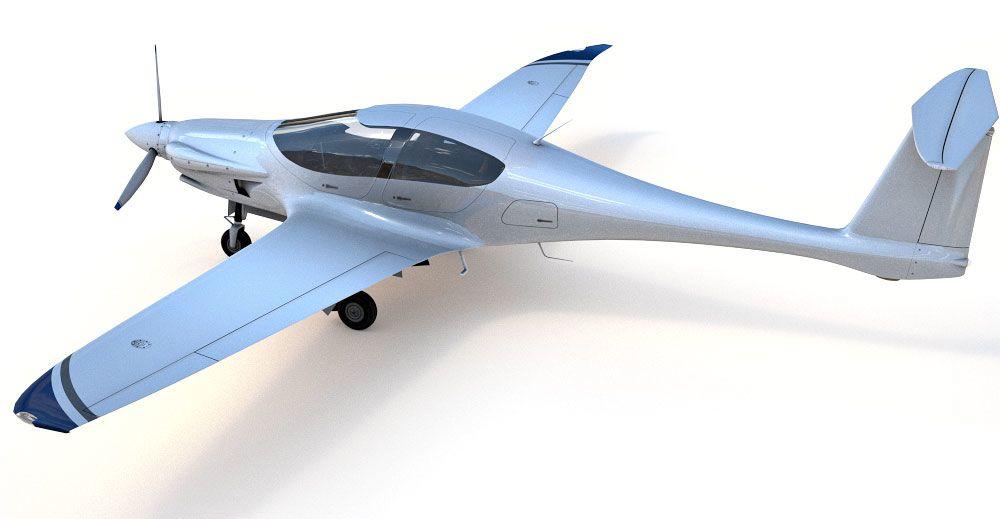 Pipistrel Panthera 3d model