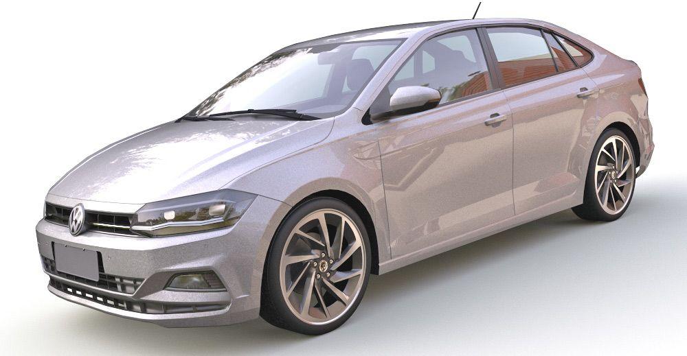 Volkswagen Virtus 3d model