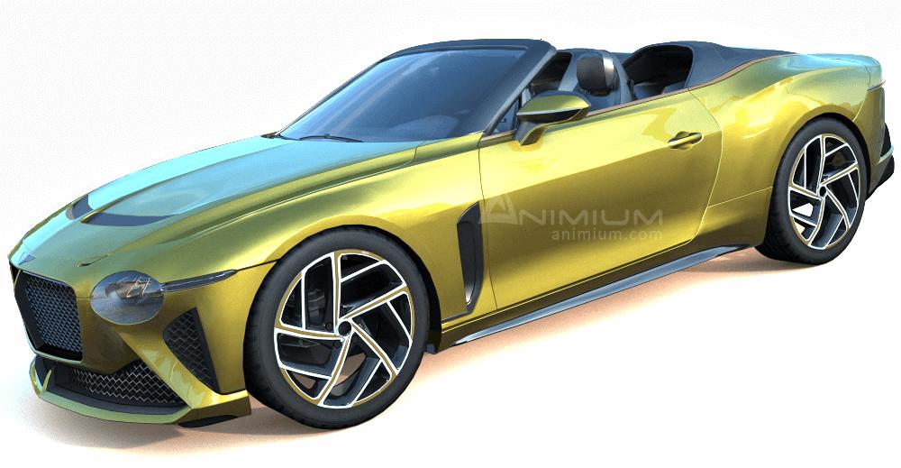 Bentley Mulliner Bacalar 3d model