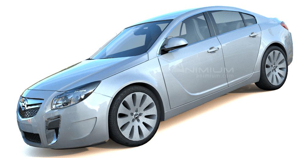 2011 Opel Insignia 3d model
