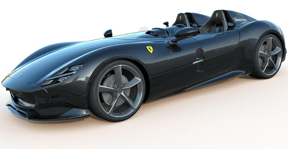 Ferrari Monza SP 3d model