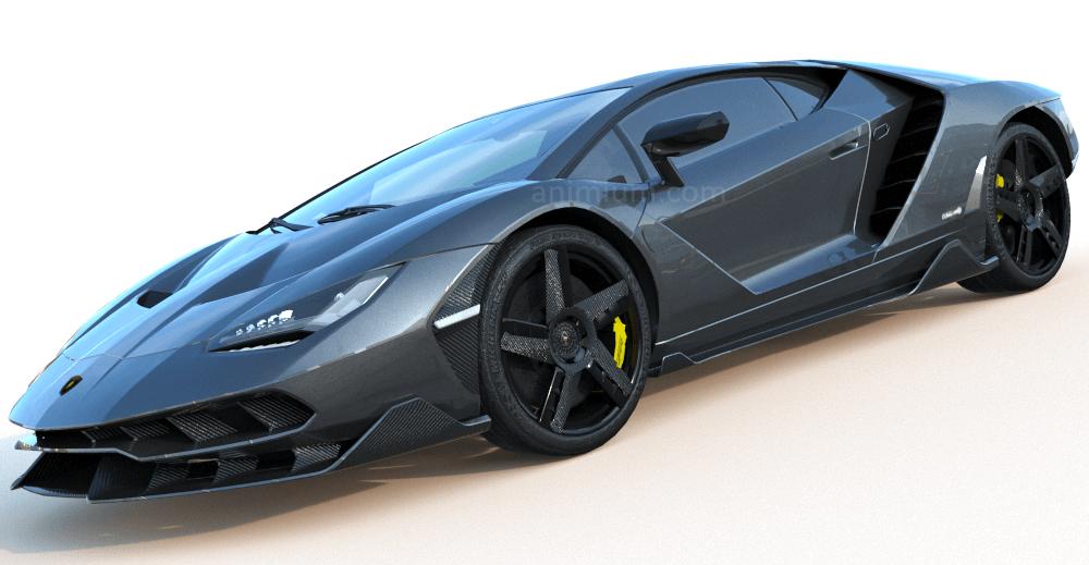 Lamborghini Centenario 3d model