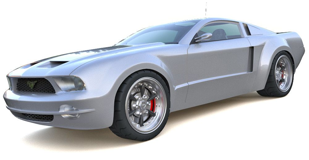 Ford Mustang Concept 3d model