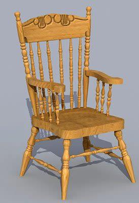 Chair 3d furniture model