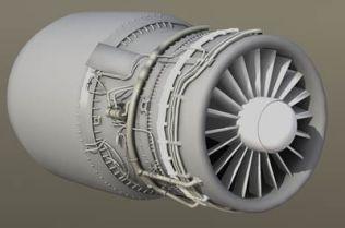 jet engine 3d model – Animium 3D Models