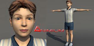 Soldier 3d model 09 – Animium 3D Models