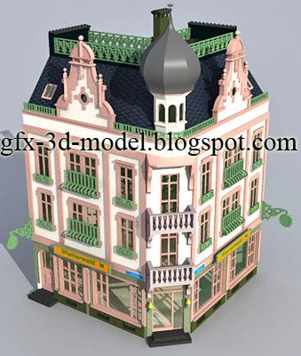Town house – Architecture model