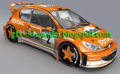 Peugeot 26 WRC – Car model