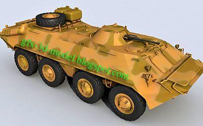 BTR 70 – armored Vehicle