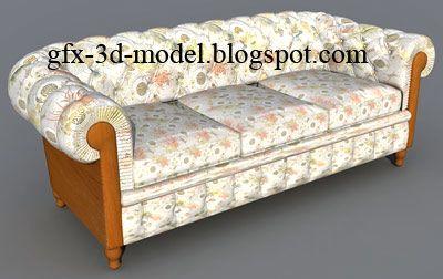 Sofa – Furniture model
